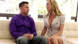 Brandi her stepmother teaches her to fuck
